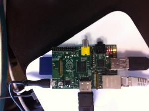 Exemple de branchement du Raspberry Pi